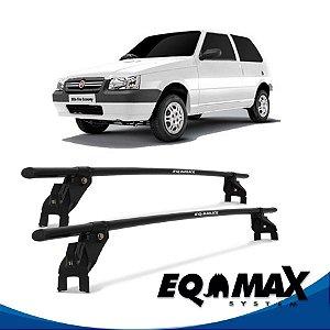 Rack Aço Teto Eqmax Fiat Uno 05/13 2 Portas