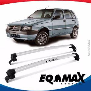 Rack Eqmax Fiat Uno Mille New Wave 05/13 prata