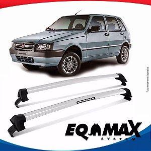 Rack Eqmax Fiat Uno Mille New Wave 05/13 prata