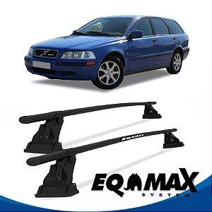 Rack Aço Teto Eqmax Volvo V40 4 Pts 00/03