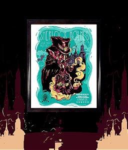 Pôster Sherlock Holmes - RPG Classics (com moldura)