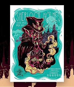 Pôster Sherlock Holmes - RPG Classics (sem moldura)