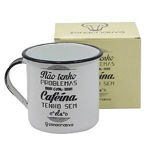 Caneca Metal – Retrô Cafeína