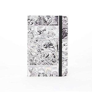Caderno Moleskine – Marvel Comics Preto&Branco