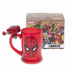 Caneca C/ Campainha – Homem Aranha
