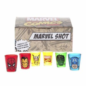 Kit de Shot Marvel