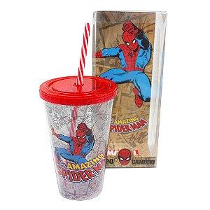 Copo Canudo – Homem-Aranha