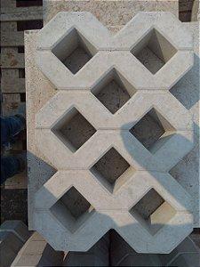 Concregrama 8 Furos – Pisograma 60x40x10cm