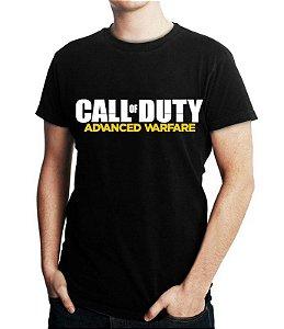 0a3488804 Camiseta Masculina Call Of Duty Advanced Warfare - Personalizadas   Customizadas  Estampadas  Camiseteria