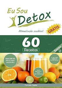 60 Receitas de Sucos Detox (e-book)