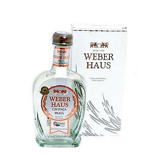 Cachaça Weber Haus Prata Orgânica 750ml
