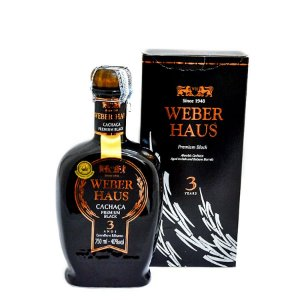 Cachaça Weber Haus Black 750ml