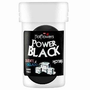 Bolinhas Explosivas Power Black Quente e Gelado Hot Flowers
