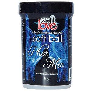 Bolinhas Explosivas Aromática Pher Men Soft Ball