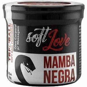 Bolinhas Explosivas Funcional Mamba Negra Soft Ball