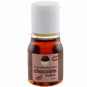 Óleo Lubrificante para Massagem Chocolate Hot 15ml Chillies