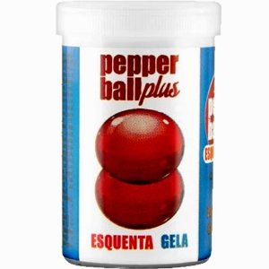 Bolinhas Explosivas Pepper Ball Plus Esquenta e Gela