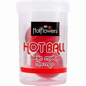 Bolinhas Explosivas Beija Muito Morango Hot Ball