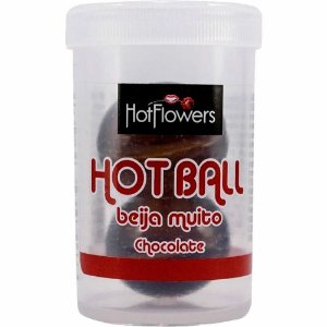 Bolinhas Explosivas Beija Muito Chocolate Hot Ball