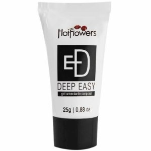 Anestésico Anal Deep Easy 25g Hot Flowers