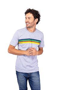 T-Shirt Cinza Mescla - Paleta de Cor