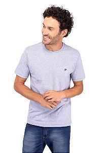 T-Shirt Básica Cinza Mescla