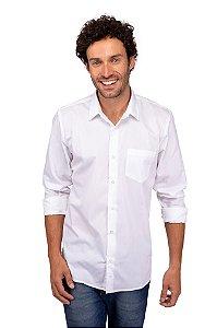 Camisa Social Fio 60 - Branca