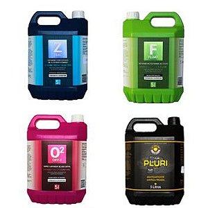 Kit limpeza Easytech 5 litros Float / Oxy2 / Zbac / Pluri
