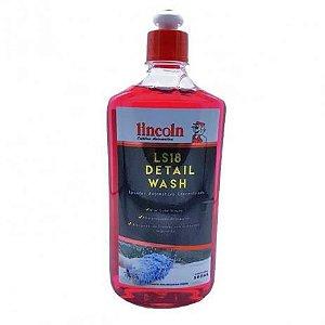 Shampoo Concentrado Ls18 Detail Wash Lavador 500ml Lincoln