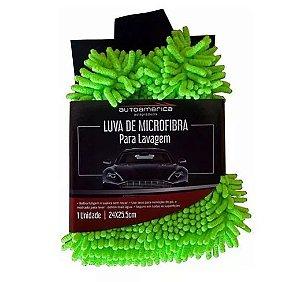 Luva Microfibra Lavagem Autoamerica