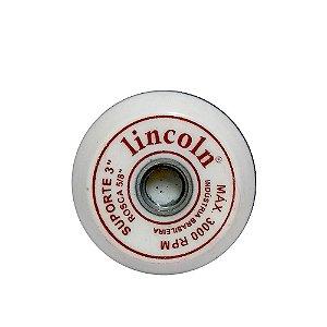 """Lincoln Suporte com Velcro em EVA Branco - 3"""""""