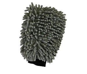 Luva de Microfibra Chenille Mandala
