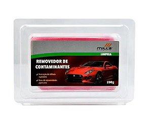 Clay Bar Removedor De Contaminantes Agressivo Vermelho Mills 200g