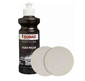 Kit Polimento De Vidros Sonax Glass Polis C/ Óxido De Cério
