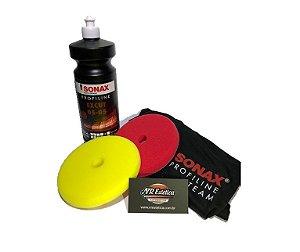 kit Sonax ExCut 05-05 1lt + Boinas e Camiseta
