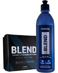 Blend All In One Carnaúba Sio2 + Cera Blend Black Vonixx