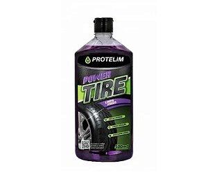Limpa Pneu Pretinho Hidratante Power Tire 500ml Protelim