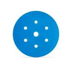 DISCO ABRASIVO HOOKIT BLUE 321U COM 7 FUROS- 800 – 3M