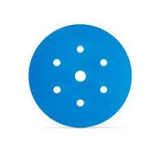 DISCO ABRASIVO HOOKIT BLUE 321U COM 7 FUROS - 220– 3M