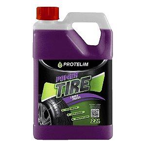Limpa Pneu Pretinho Hidratante Power Tire 2,2 L Protelim