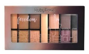 Paleta de Sombras + Primer Freedom Ruby Rose