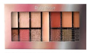 Paleta de Sombras + Primer Charm Ruby Rose