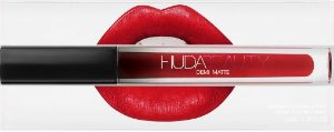 Lipstick Huda Beauty Demi Matte - cor: Boy Collector