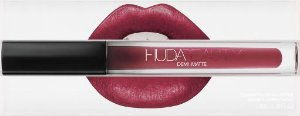 Lipstick Huda Beauty Demi Matte - cor: Ladie Boss