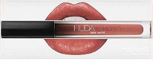 Lipstick Huda Beauty Demi Matte - cor: Mogul