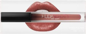 Lipstick Huda Beauty Demi Matte - cor: Sheeo