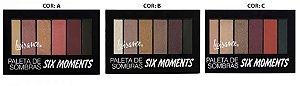 Paleta de Sombras Six Moments Luisance
