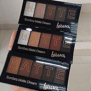 Kit 3 Paletas de Sombra Matte Dream 5 Cores em cada