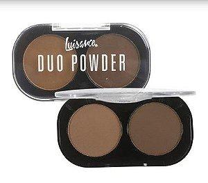 Paleta de Sombras Duo Powder 2 Cores  - Cor A