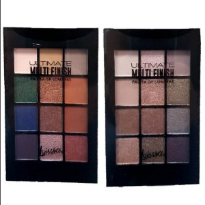 Kit Paleta de Sombras Ultimate Multi Finish 12 Cores - Cores A e B